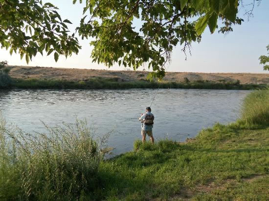 fishing at red butte ranch