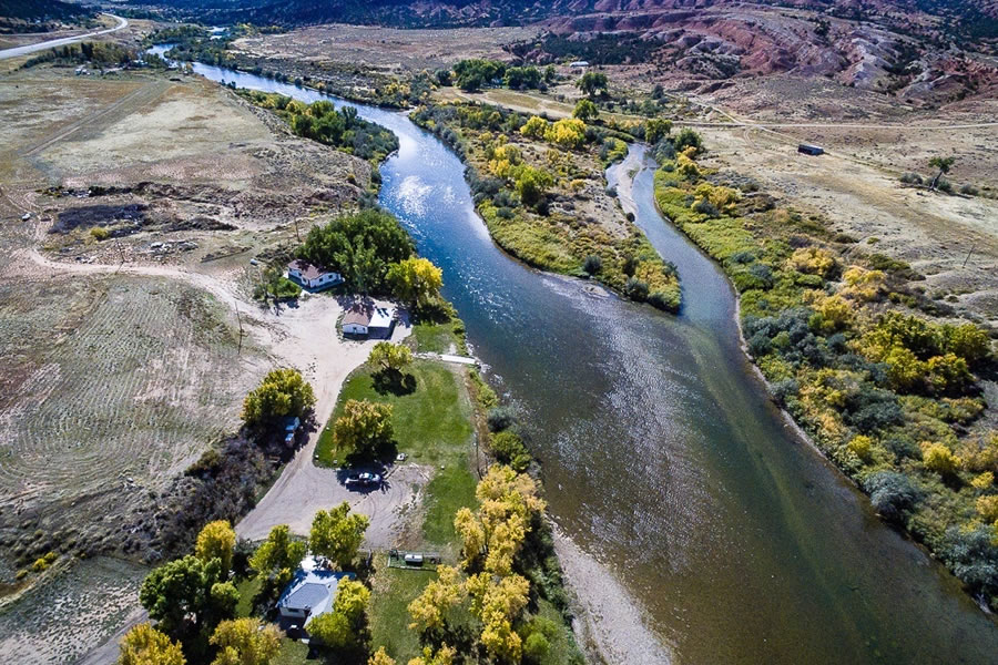 Private North Platte River access