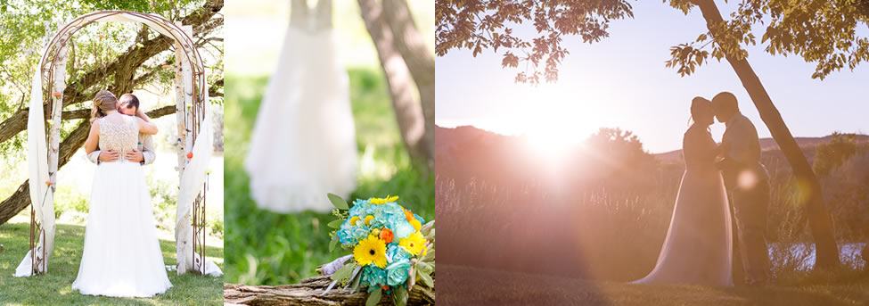 red butte ranch weddings collage