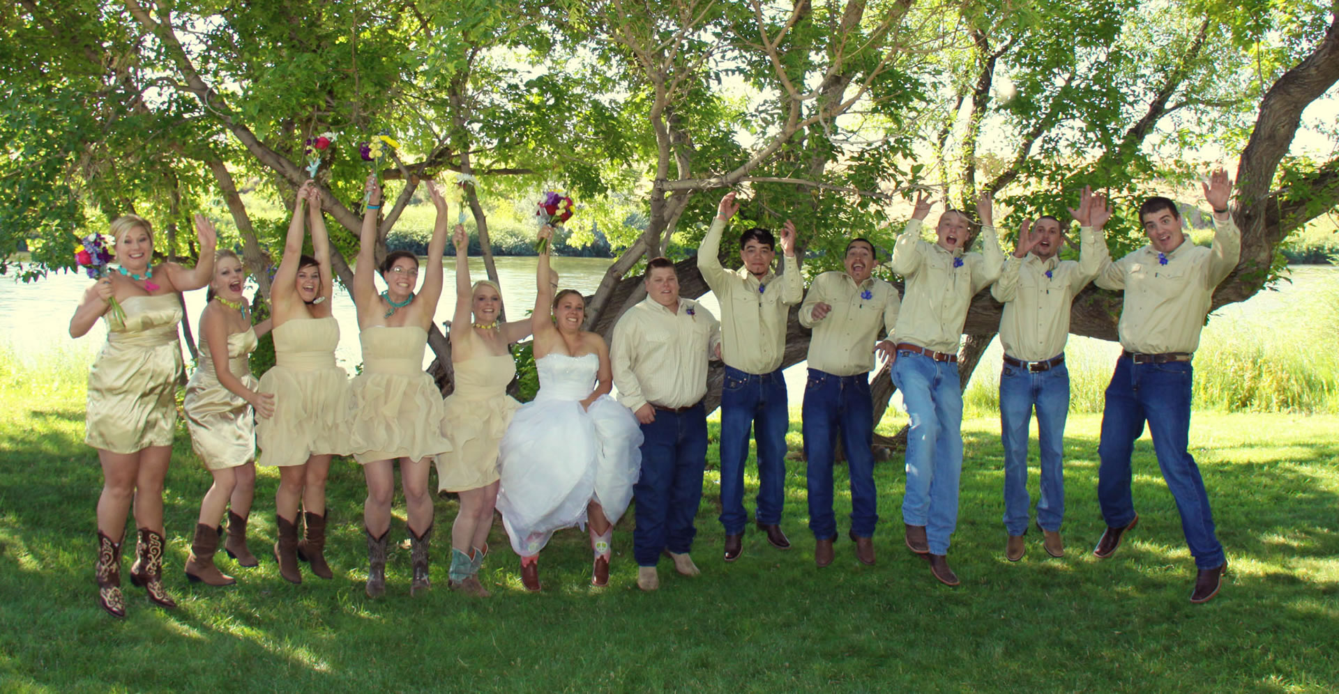 Outdoor Wedding Venue Casper Wyoming